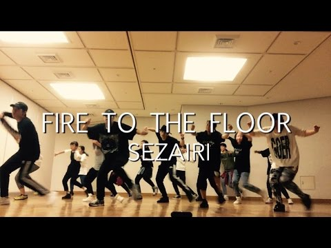 Fire to the Floor - Sezairi - 中級 Lock Lesson Part1