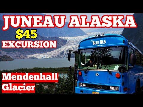 Mendenhall Glacier & Nugget Falls Shore Excursion - Juneau Alaska