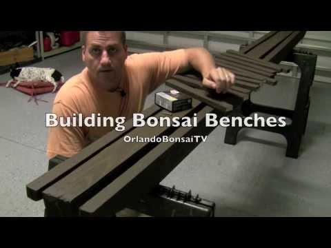 How to Bonsai Create and Build Bonsai Benches