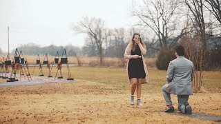 "Surprise Proposal | ""Fixer Upper"" Style Reveal"