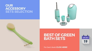 Best Of Green Bath Sets Our Accessory Sets Selection