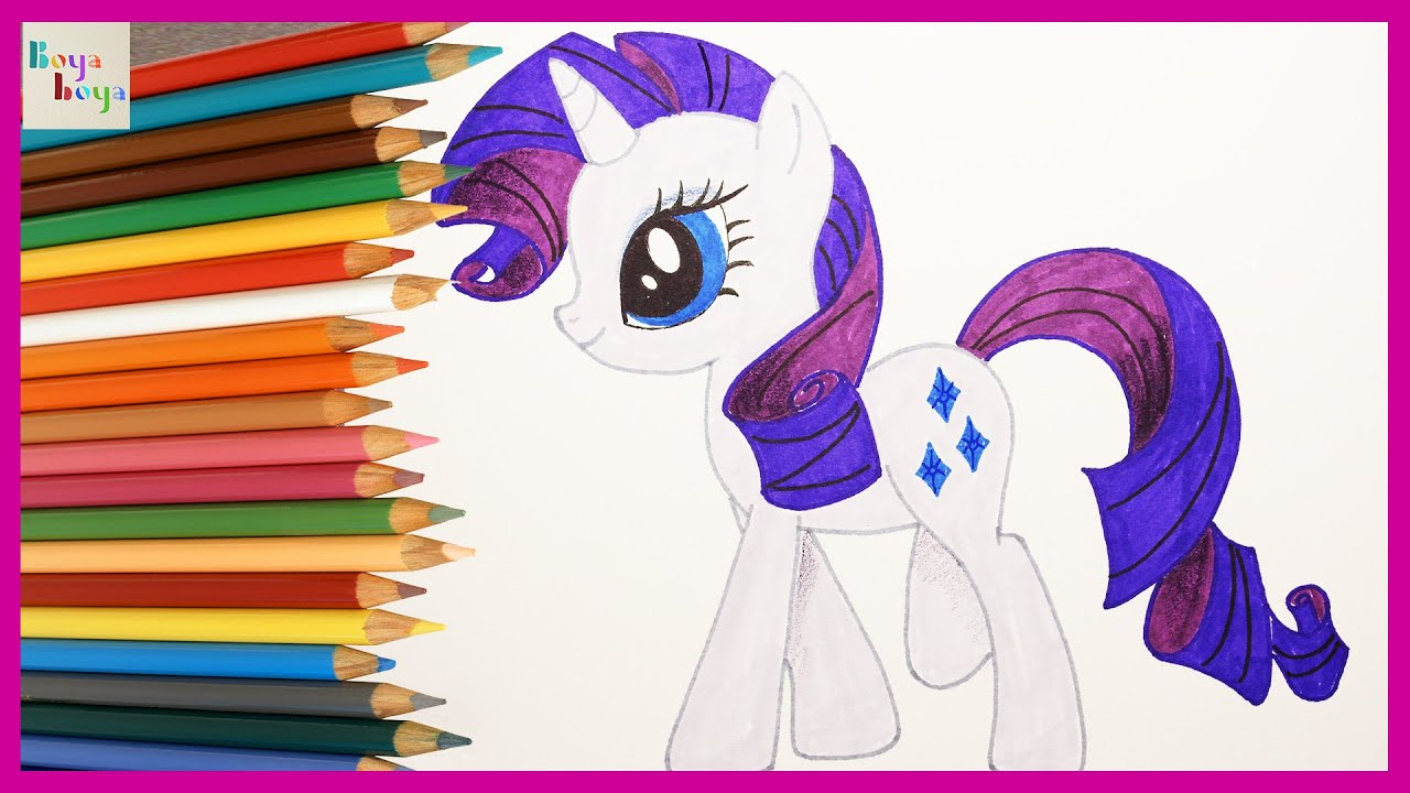 My Little Pony Rarity Nasil Cizilir My Little Pony Turkce