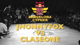 JhonnyFox VS ClaseOne - Top16 - Red Bull BC ONE Barcelona Cypher 2015