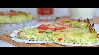 Кабачковая пицца. Пицца из кабачков (цукини). Кабачковая пицца в духовке