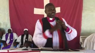 Bishop of Malek Rev Peter Joh Mayom talks about South Sudan
