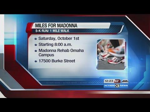 Madonna Rehabilitation Hospitals Omaha to host inaugural fun run, walk