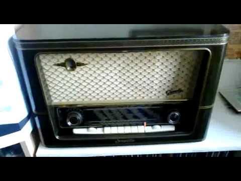 NDB di Padova. Segnale in Codice Morse PDA sui 327 kHz con Radio Graetz Comedia 4R/216