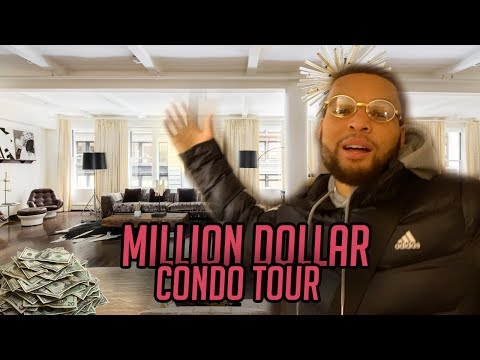 TOUR OF MY MILLION DOLLAR CONDO IN NYC!!