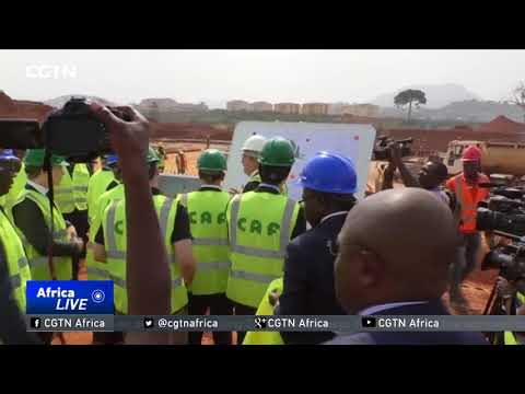 CAF delegation wraps up Cameroon stadium inspection tour ahead of AFCON 2019
