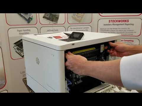 How To Replace The HP B5L35A M552 M577 M553 Fuser Maintenance Kit B5L35-67901
