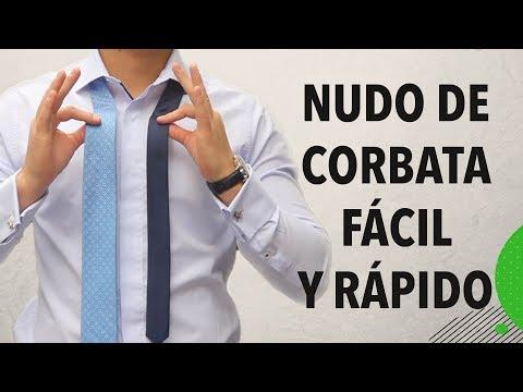 C�mo hacer el nudo de la corbata F�CIL y R�PIDO | Humberto Guti�rrez
