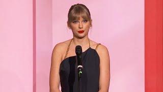 Watch Taylor Swift Slam Scooter Braun During Billboard Woman Of The Decade Speech