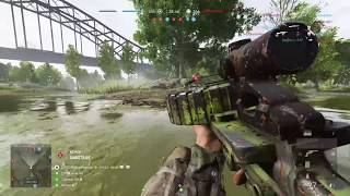 Battlefield 5: THE PREDATOR (Best LMG... and its not even close) Quick Aim,Extended Magazine