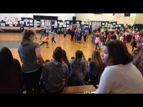 Bonny Eagle Middle School Dancing