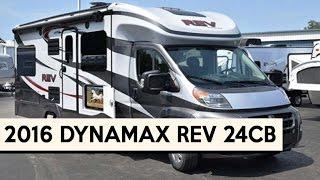 2016 Dynamax Rev 24cb Class C Motorhome Youtube