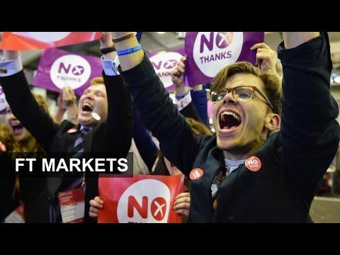 Scottish referendum relief rally