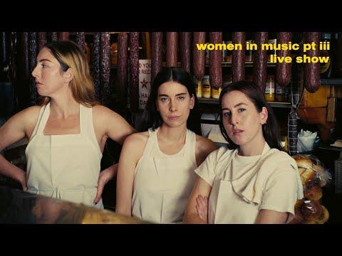 HAIM –WOMEN IN MUSIC PT III LIVE SHOW