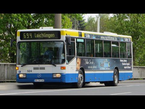 [Sound] Bus Mercedes O 405 N (Wagennr. 524) der Stadtwerke Solingen GmbH