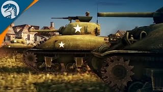 CRAZY NEW WWII GAME | HEAVY TANK BATTLE | Steel Division: Normandy 44 Gameplay