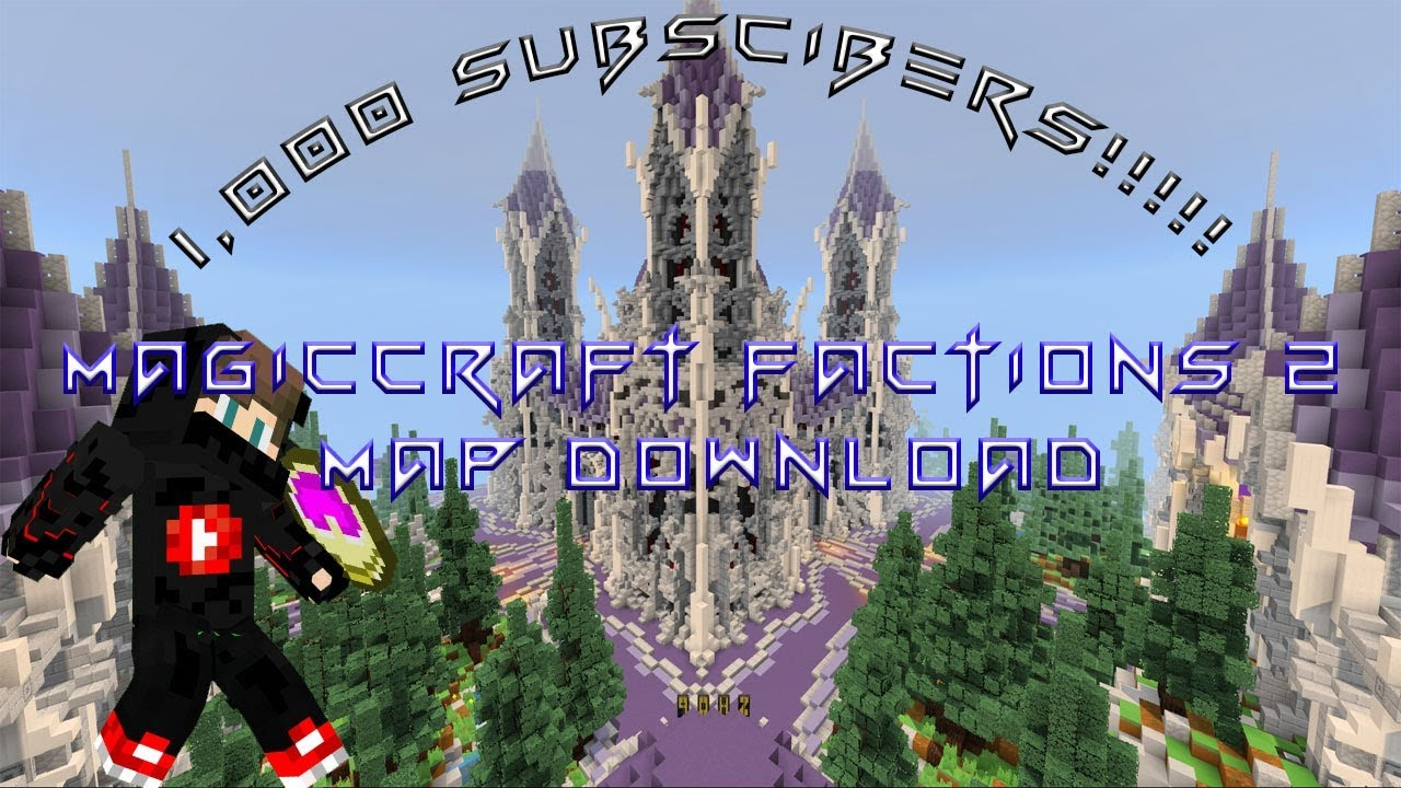 MagicCraft Factions 2 [PvP] | Minecraft PE Maps