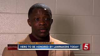 Tenn. Lawmakers To Honor Waffle House Shooting Hero