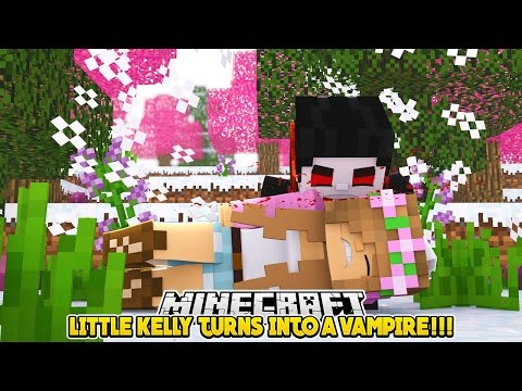 LITTLE KELLY TURNS INTO A VAMPIRE!!! - Minecraft Little Club Adventures