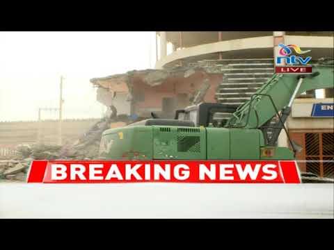 Airgate Centre (Taj Mall) demolition underway