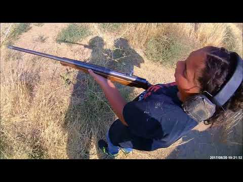 Avery Fires a Shotgun for the First Time