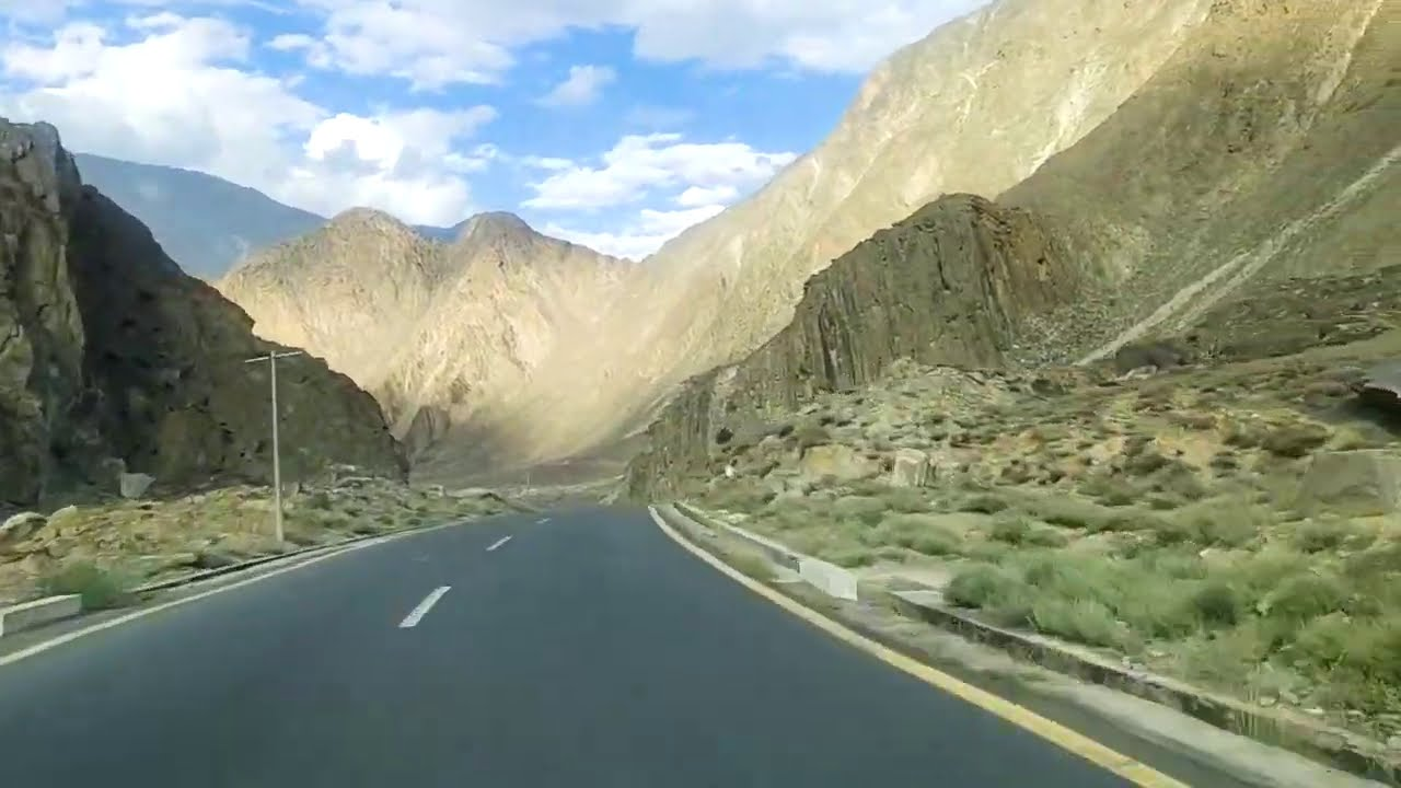 Latest Update of Gilgit Hunza Road 29 Aug 2020 with Beautiful Shina Song