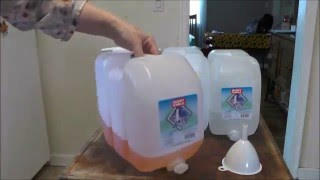 Recycling Plastic Water Jugs