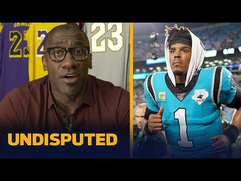 Cam Newton will not be a starter for the first time, he'll be a backup  Shannon | NFL | UNDISPUTED