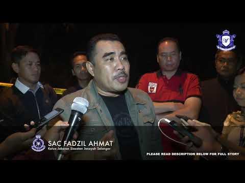 MKL Crimedesk   Dua Ahli Kongsi Gelap Tumpas Ditembak Polis