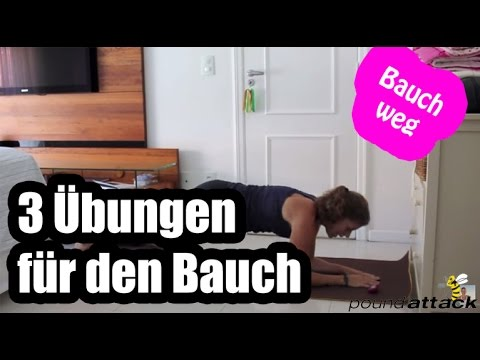 bauchtraining flacher bauch miniworkout 3 bauch weg bungen f r zuhause. Black Bedroom Furniture Sets. Home Design Ideas