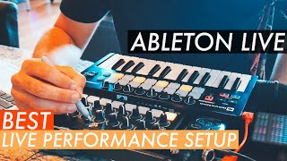 BEST ABLETON LIVE PERFORMANCE SETUP | MIDI Controllers & Gear