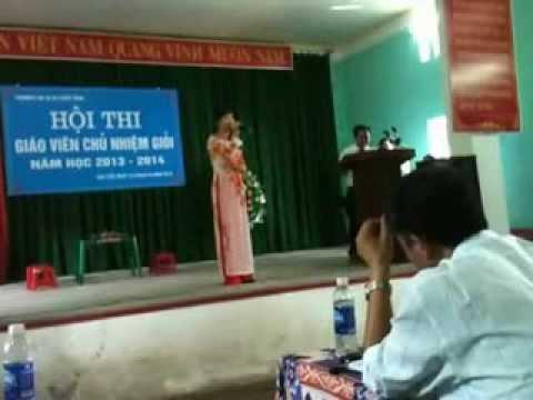 Tinh huong du thi GVCN giới Truong THCC Thuong Lan