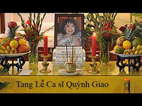 Tang lễ Nghệ sĩ Quỳnh Giao