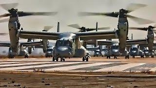 Marine Corps Rotary Aviation • MV-22B & CH-53E Mass Launch