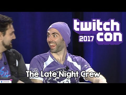 [TwitchCon 2017] The Late Night Crew Panel: ROUND 3 - Feat. Witwix, TheNo1Alex, Outstar and Pluto