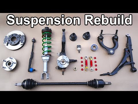 How to Install a COMPLETELY New Front Suspension in your Car or Truck