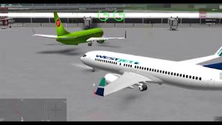 ROBLOX - Flightline - [5] - WestJet Flight 737 - 737-800