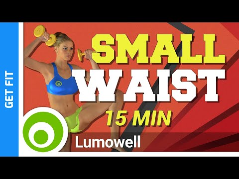 Waist Workout At Home - Small Waist Exercise With Weights