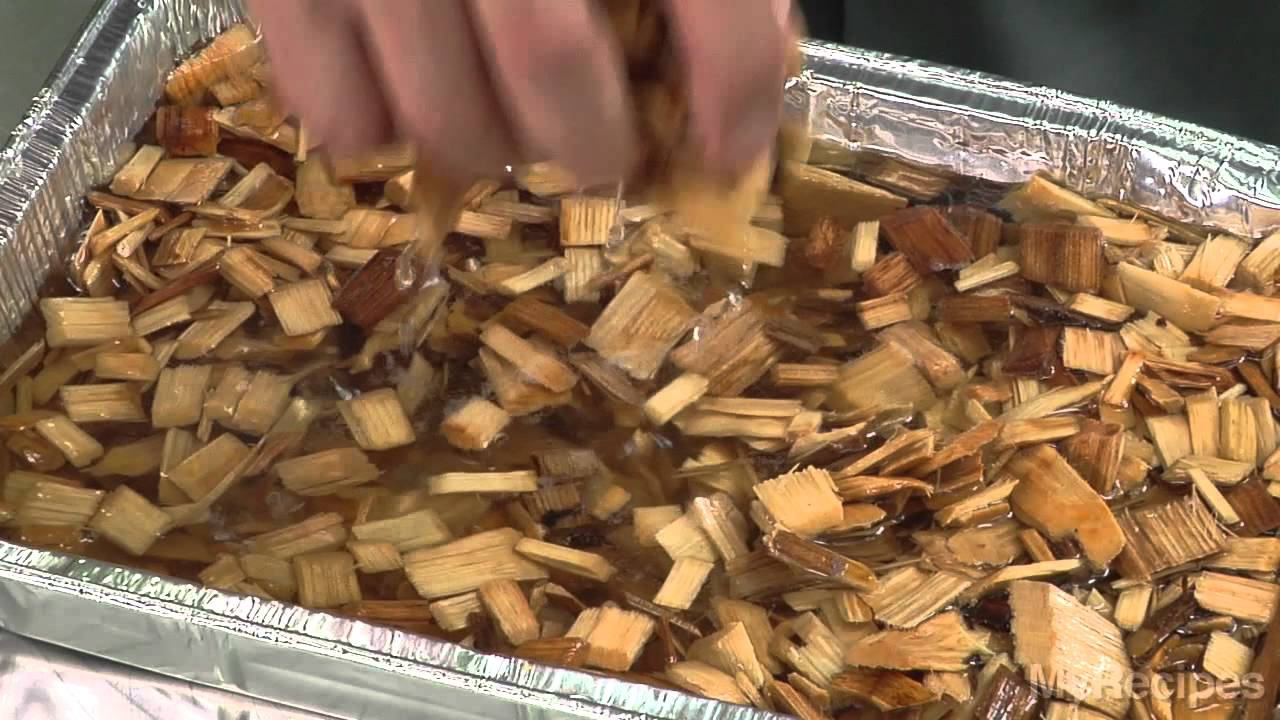 How To Grill With Wood Chips Youtube