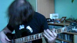 Black Sabbath dirty woman bass cover
