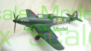 Airfix RAF Boulton Paul Defiant 英国挑戰式夜間戰机 デファイアントと旋回銃座