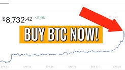 BUY BITCOIN NOW! BTC BREAKOUT IS RIGHT NOW - HOW TO BUY BITCOIN