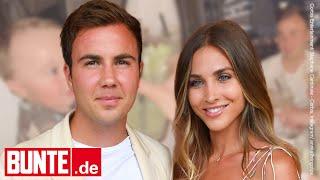 Ann-Kathrin & Mario Götze - Prost! Baby Rome Beweist Goldige Tischmanieren