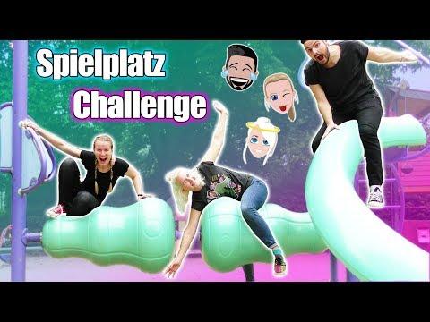 SPIELPLATZ BESUCH Extrem Fun mit Nina, Kaan & Kathi! Mit Schaukel Wettbewerb! Peinliche Erwachsene😂