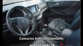 Hyundai tucson occasion visible à Bessières présentée par Auto smca verfaillie