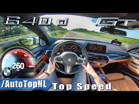 BMW 6 Series GT M Sport 2019 640d xDrive AUTOBAHN POV TOP SPEED by AutoTopNL