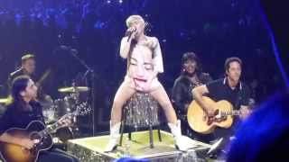 "Miley Cyrus ""Ruler of My Heart"" Live - MGM Arena, Las Vegas 3/1/14 Bangerz Tour"